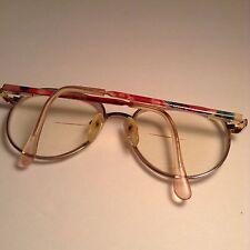 BOULEVARD BOUTIQUE RX DESIGNER Eyeglasses Eyewear 52-18-140 Gold/Candy Pink