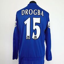 Chelsea Home Football Shirt Adult Large DROGBA #15 2005/2006 Long Sleeves L/S