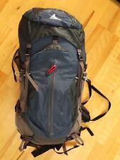 Gregory Z55 Backpack  Versatile Ventilated Hiking Pack 55 Liter Grey Size Large
