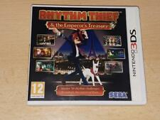 Rhythm Thief & The Emperor's Treasure Nintendo 3DS UK Game **FREE UK POSTAGE**