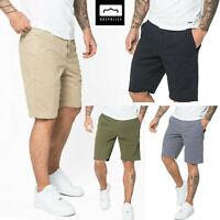 883 Police Mens Designer Casual Inver Shorts New Chino Cotton Cargo Half Pants