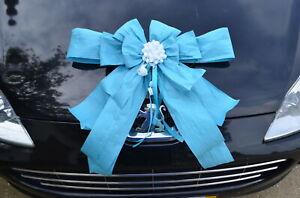 Happy Birthday, Geburtstagsschleife, Riesen Geschenkschleife, Dekoschleife, Auto