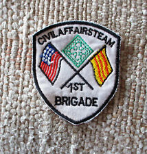 VIETNAM WAR PATCH-U.S.ARMY 4th Infantry Division 1st Brigade Civil Affairs Team