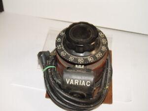 Estate Vintage Variac Transformer Autotransformer Regulator 115v 5 Amp 50/60