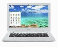 "Acer Chromebook Laptop 13.3"" Screen 4GBRam 16GB SSD WIFI WEBCAM USB HDMI CHROME"