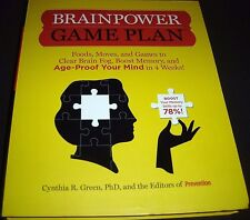 Brainpower Game Plan Sharpen Your Memory Improve Your Concentration and Age-