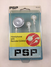 NEW Stereo Earphones Headphone Remote Control for Sony PSP 1000 PSP 1001 Console