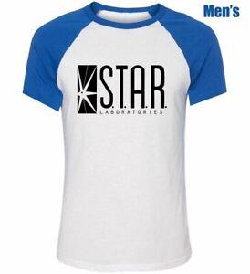 STAR Laboratories The Flash DC Comics TV Series Couples T-Shirt Graphic Tee Tops