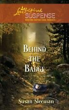 Behind the Badge (Love Inspired Suspense)-ExLibrary