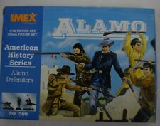Imex 1:72 25mm American History Alamo Defenders No. 509 Figure Set~New/Open Box
