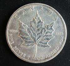2011 Canadian Silver Maple Leaf 1 oz .999 Fine Silver