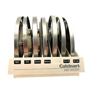 Cuisinart Food Processor Set of 7 Disc Blades DLC-7 Slicer Japan