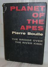 Pierre Boulle Planet Of The Apes 1968 Hardcover Dj Science Fiction Bc Edition