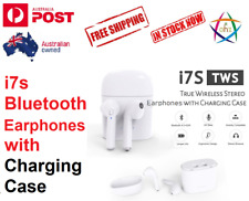for iPhone Air Pods Bluetooth Wireless Earphone EarPods Headphone Charger I7s