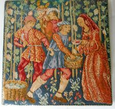 English The Harvest Tapestry Wall Art 16th Century Wall Hanging Ref Qc7685 New