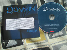 Dommin ‎– Tonight Roadrunner Records ‎– RR PROMO 1215  PROMO CD Single