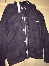 Goi Goi Mens Size Small Jacket navy blue