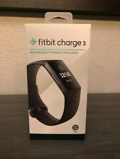Brand New Fitbit Charge 3 Activity Tracker - Black/Graphite Aluminum