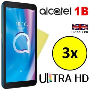 3x ULTRA CLEAR HD SCREEN PROTECTOR COVER FILM SAVER GUARDS FOR ALCATEL 1B 2020