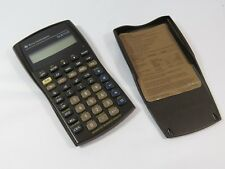 Texas Instruments Ba Ii Plus Business Analyst Financial Calculator Brown Used