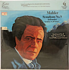"""Mahler Symphony No. 9 in D Major / Symphony No. 10 """"Adagio"""" LP <v01>"""
