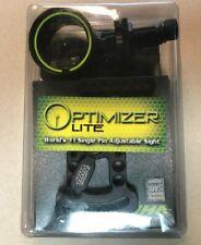 New listing HHA Sports Optimizer Lite Single Pin Adjustable Sight OL-5519 Green/Black NEW