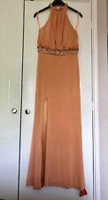 Forever Unique Liberty Orange Dress Size 12 BNWT