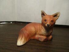 Vintage Ceramic Fox - Red Fox Woodland Creatures - Animal - Goebel West Germany