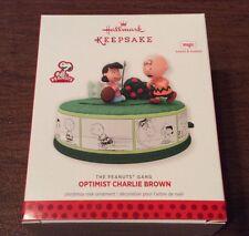 Hallmark 2013 Ornament - Optimist Charlie Brown - The Peanuts Gang