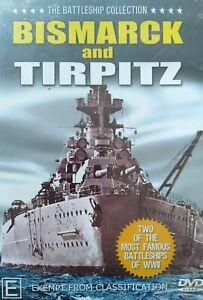 Battle Ship Collection Bismarck And Tirpitz DVD Freepost