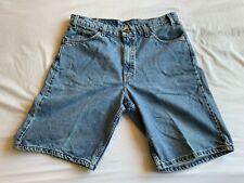 Levi's 550 Relaxed Fit Denim Shorts - Orange Tab, Size 36