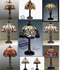 Estilo Tiffany mano hecha a mano de vidrio de Mesa/Escritorio/Lámparas de mesilla de noche (Impresionante Calidad)