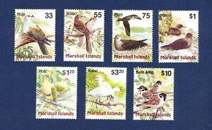 MARSHALL ISLANDS  -Scott 686 // 720 - FVF MNH - BIRDS - 1999