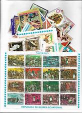 P3142/5] 300 different Equatorial Guinea packet