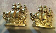 New ListingVintage bronze ship book ends