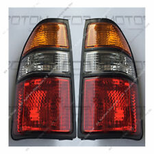 Clear Lens Tail Lights Lamps Replacement For 96-02 Toyota Land Cruise Prado LC90