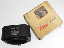 Leica XOONS Hood for 50mm f1.5 Summarit  .......... MINT w/Box
