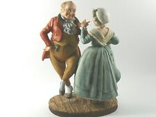 "Norman Rockwell ""Christmas Dancer "" Figurines 8"" Hand Crafted"