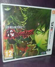 Shin Megami Tensei IV Apocalypse Nintendo 3ds Sealed NEW PAL (ENGLISH) RARE
