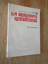 Berçante québécoise Chaise Bois Berceuse MARTIN 1978 Rocking Chairs