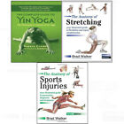 Complete Guideto Yin Yoga:Anatomy of Stretching,Injuries 3 books collectioon set