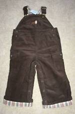 NWT JANIE & JACK Best in Show Brown Dog Overalls~18-24