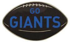 "New York Giants  NY   Vintage-Looking  1950's   ""Go Giants""   Die-Cut   Sticker"
