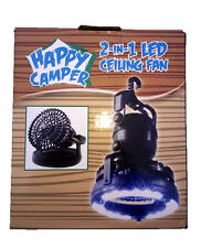 2 in 1 Camping Lantern with Built In Fan, Camping Light, Fan Combo