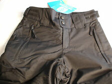 COLUMBIA CRUSHED OUT Black Snow Pants W/Grow System Girls Sz 7-8 NWT $90