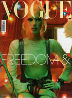 VOGUE ITALIA 672 ALDRIDGE KLEIN DAY BURBRIDGE LOTUS WALKER ZHOU ARCURI KOBIELSKI