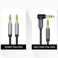 3ft 6ft Aux Cable 3.5mm jack Stereo Audio Cable Male to Male Cord For iPod Car