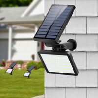 Waterproof Solar Power 48 LED PIR Motion Sensor Wall Light Outdoor Garden Lamp