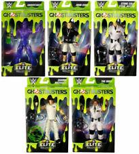 WWE Mattel Elite Series Ghostbusters Figures Complete Set 5 Undertaker/Cena/Rock