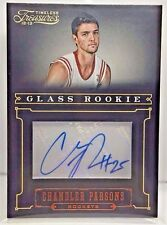 Chandler Parsons 2012-13 Timeless Treasures Glass RC Auto #'d 247/499 - ROCKETS